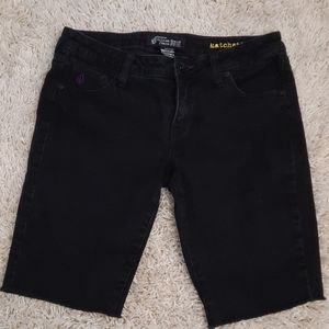 Volcom slim shorts in black